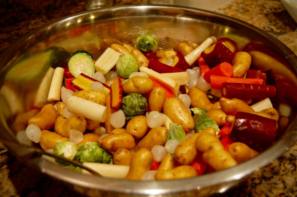 roasted vegetable side dish