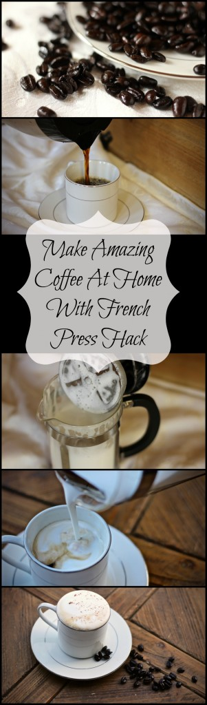 Make amazing coffee at home