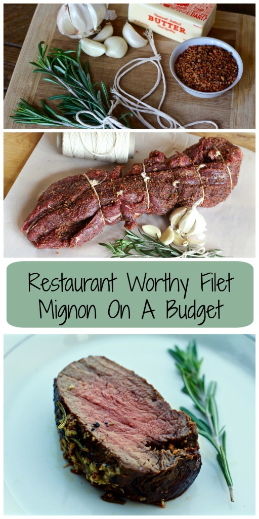 Restaurant worthy filet mignon