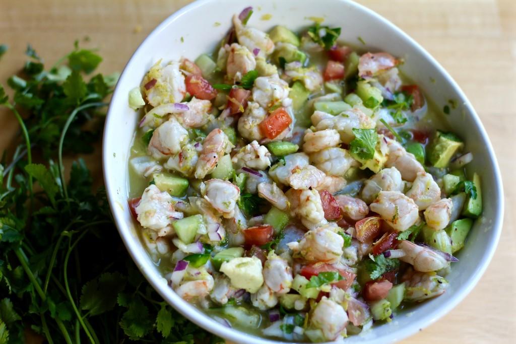 shrimp ceviche tacos