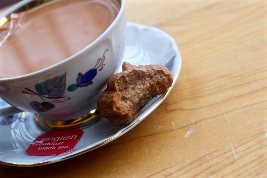 skinny chai spiced meringues