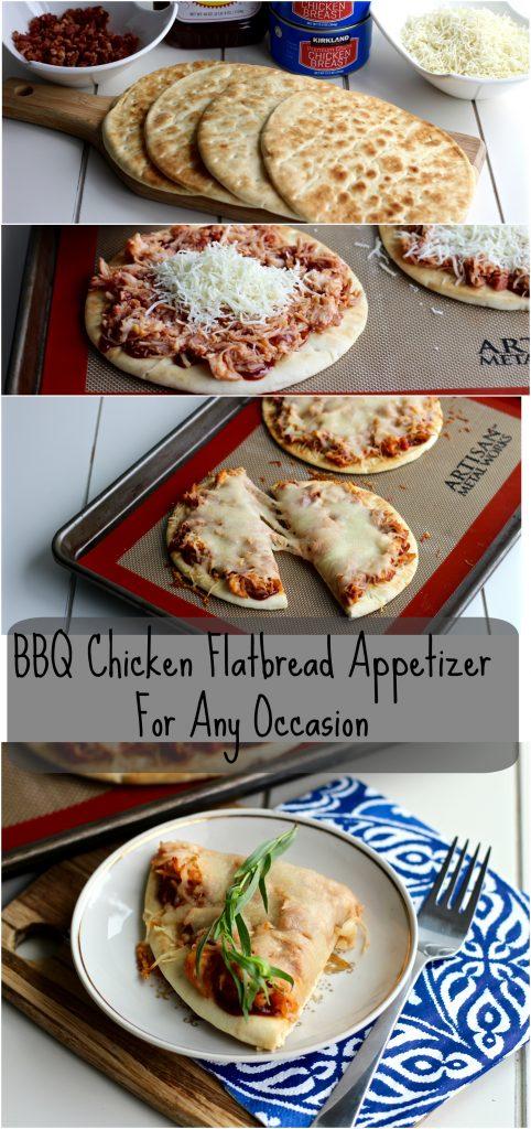 BBQ Chicken Flatbread Appetizer