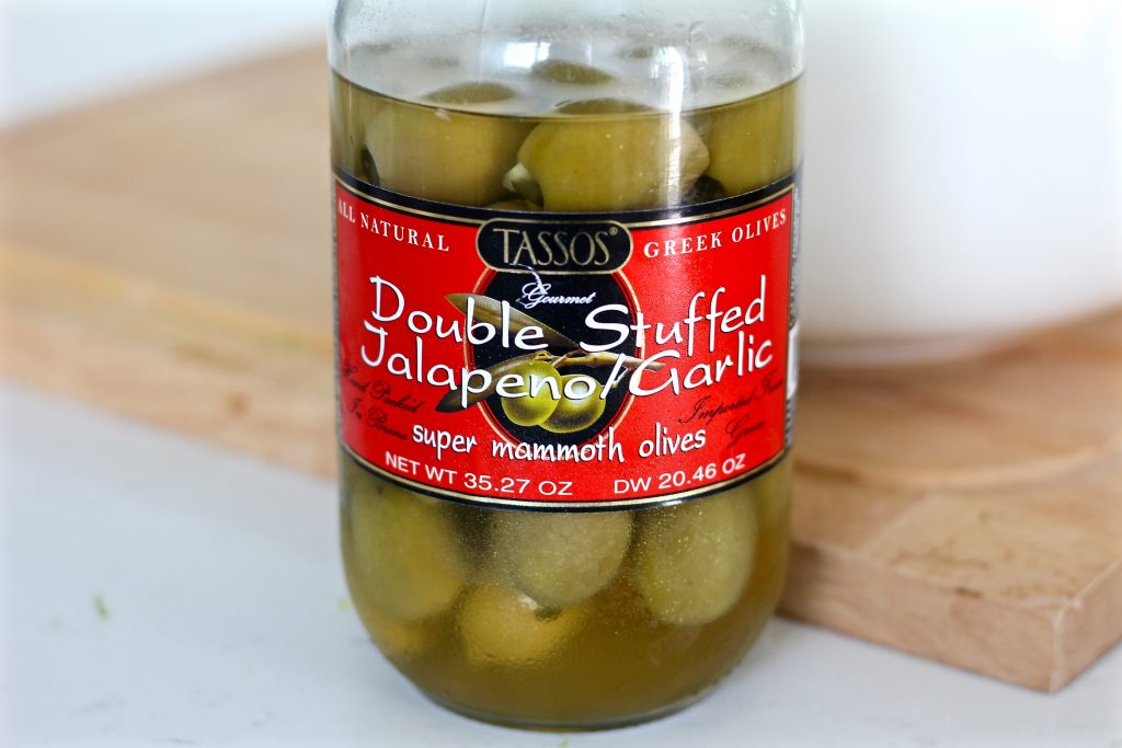 My favorite olives to use for this salad.
