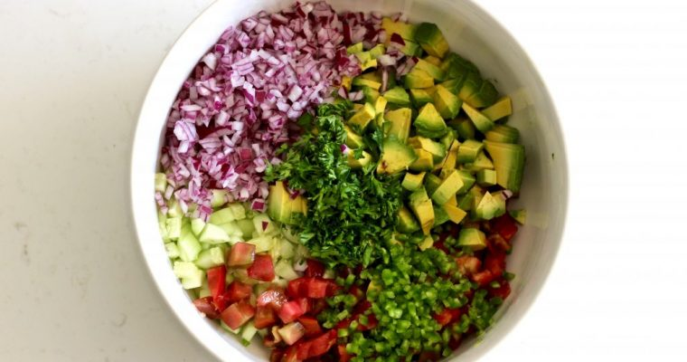 Fresh Cucumber Avocado Salsa That Will Change Your Life