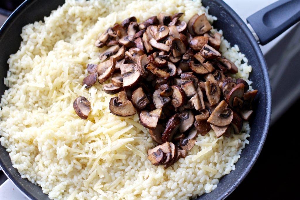 classic mushroom risotto