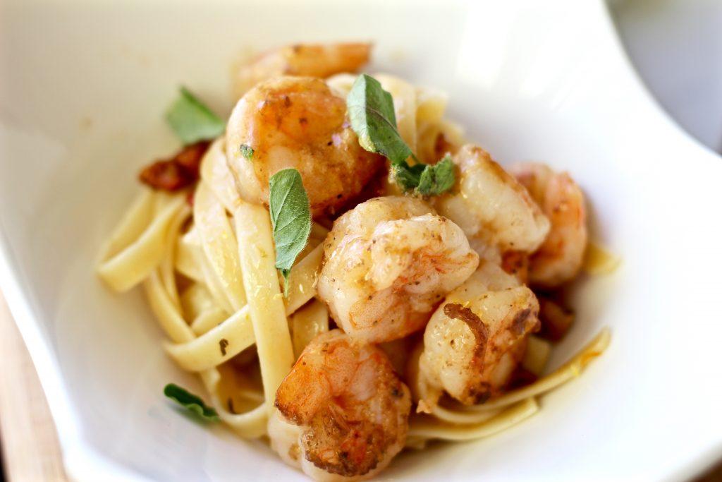 Lemon Butter Garlic Shrimp