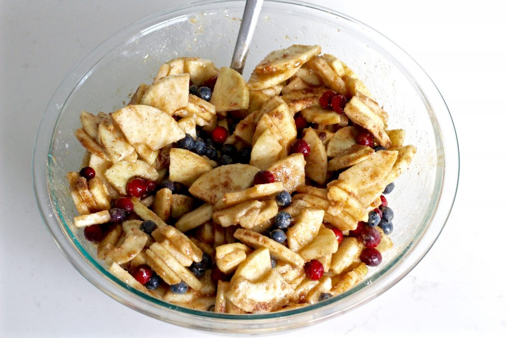 Spiced Apple Berry Pie