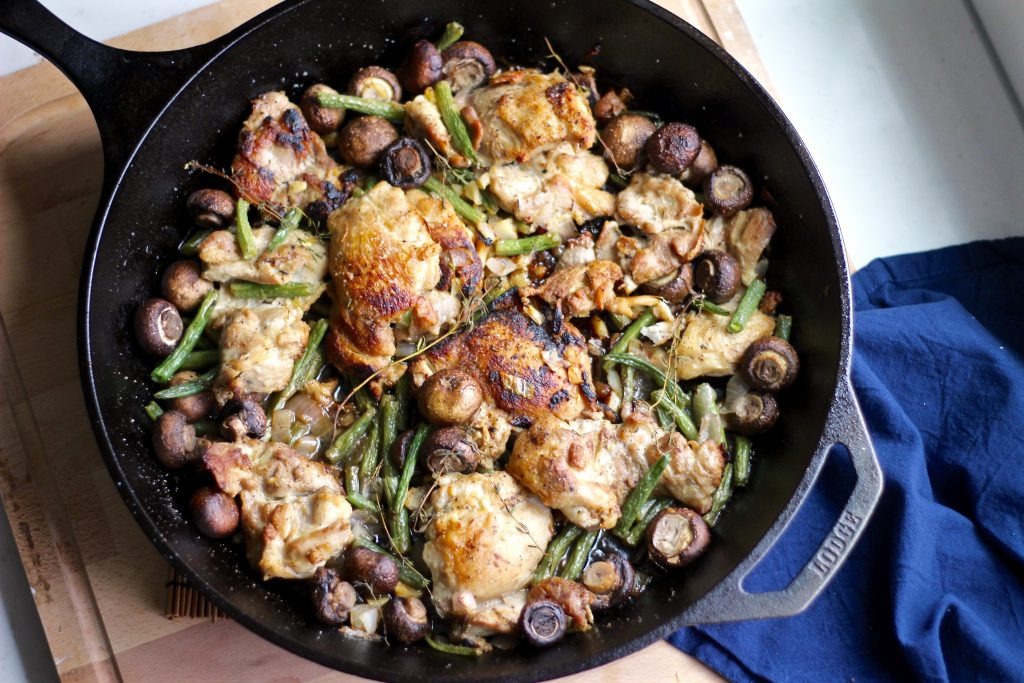Lemon Chicken Veggie Skillet