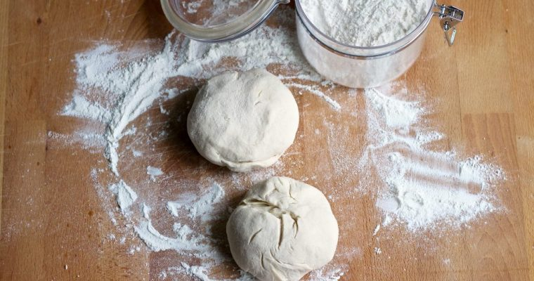 Two Ingredient Homemade Pizza Dough