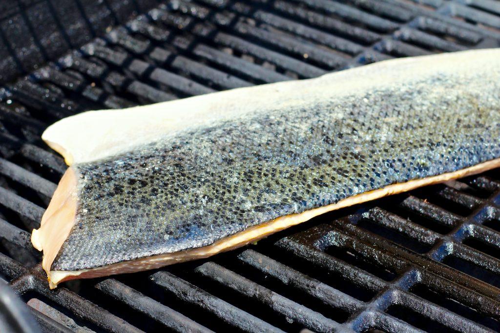 juicy grilled garlic rosemary salmon