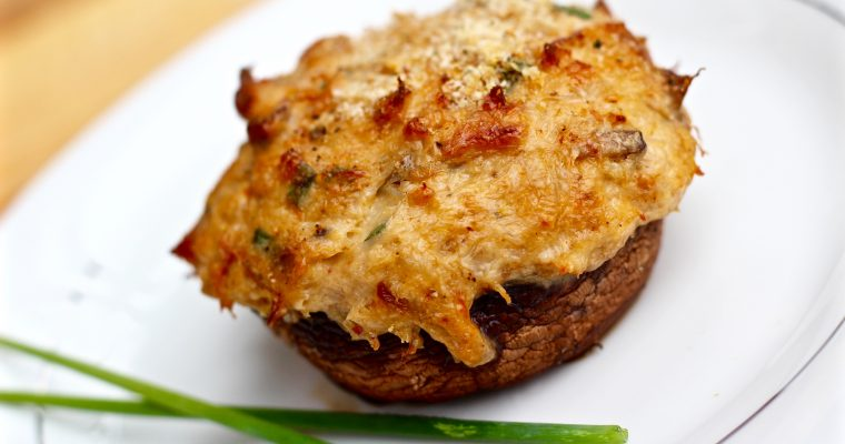 How To Make Gourmet Crab Stuffed Mushrooms
