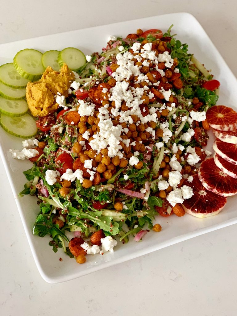 Moroccan Roasted Veggie Quinoa Salad